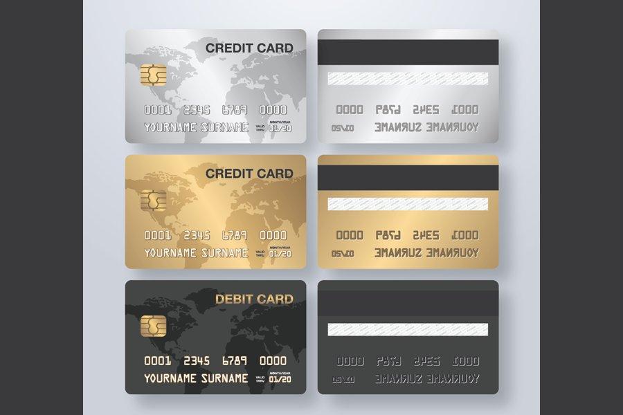 Credit Card (Vector File)
