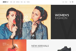 Rewind-eCommerce Fashion Bootstrap