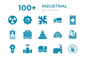 100+ Industrial Vector Icons