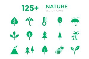 125+ Nature Vector Icons