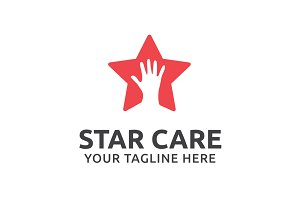 Star Care Logo Template