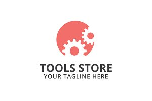 Tools Store Logo Template