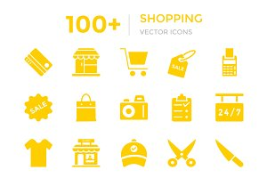 100+ Shopping Vector Icons