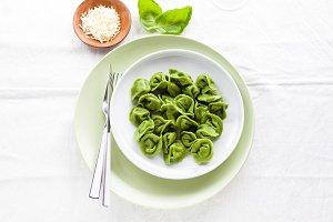 classic homemade Italian tortellini