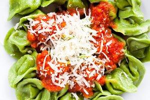 classic homemade Italian ravioli