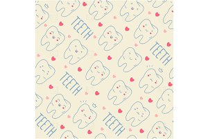Teeth pattern 2