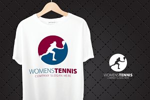 Women´S Tennis Logo