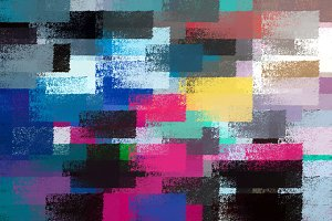 Colorful Chalk Strokes Background