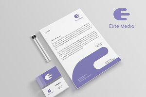 Elite Media Stationery