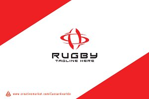 Rugby Logo Template