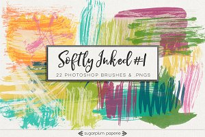 Softly Inked #1 :  :Brushes