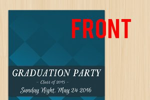 Graduation invitation card 5