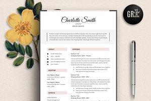 Resume Template | CV Template - 01