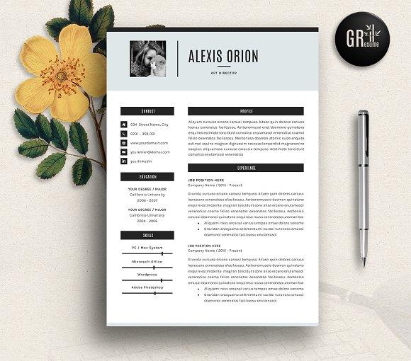 Resume Template | CV Template - 03 - Resumes