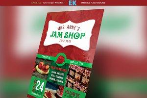 Jam Shop Flyer Template