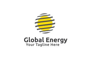 Global Energy Logo Template