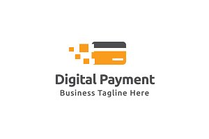 Digital Payment Logo Template