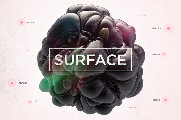 Surface Shapes in Objects