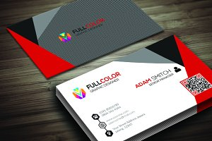 Creative Colour Business Card