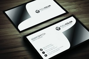 Creative Black V2 Business Card