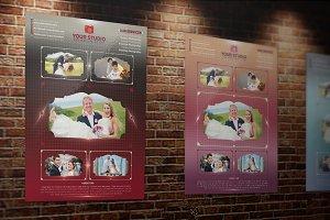 Photograhpy Flyer Template 3 Colors