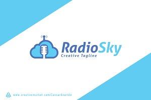 Radio Sky Logo Template