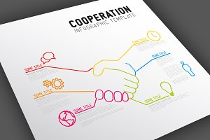 Cooperation Infographic Template