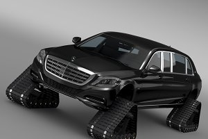 Mercedes Maybach Pullman Crawler2016