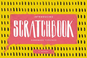 Scratchbook Typeface