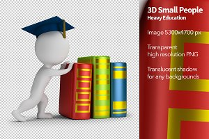 3D Small People - Heavy Education