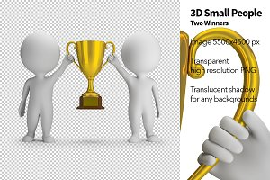 3D Small People - Two Winners