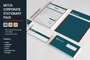 Mitus Corporate Stationary Pack