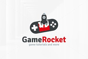 Game Rocket Logo Template