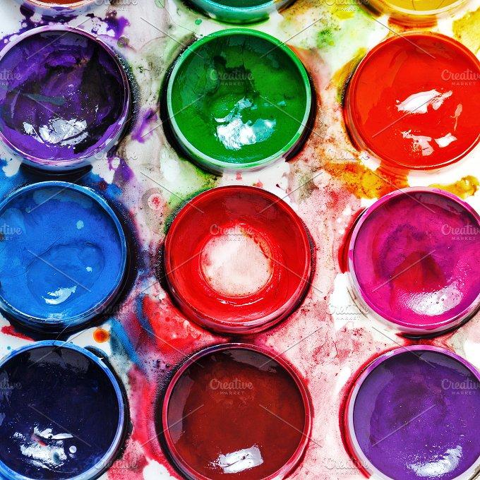 Art Supplies. Paintbox - Arts & Entertainment
