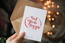 6 postcard and invitation mock ups