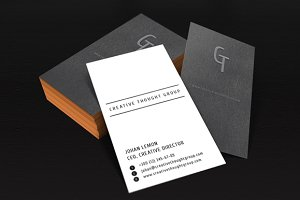 Personal Business Card Template v.2