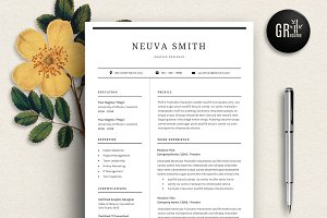resume template - Template Of A Resume