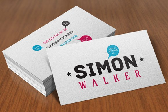 Personal Business Cards Business Card Templates Creative Market