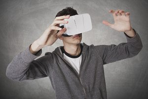 young viewer virtual reality