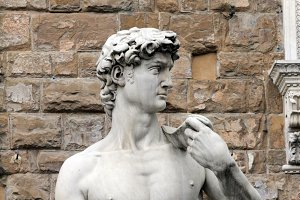 Replica Statue of David, Florence, Italy