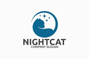 Night Cat Logo