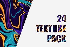 24 Liquify Texture Pack