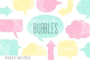 36 Speech Bubble Banner Pack