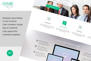 FutureSense - MultiPurpose Template