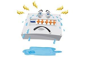 Switchboard Crying Tears Cartoon