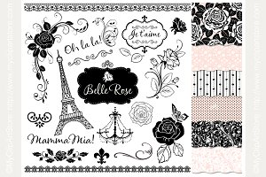35% OFF Belle Rose Design Bundle