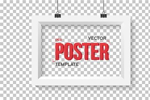 Vector Poster Wall Frame