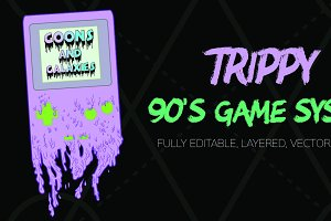 Trippy 90's Game System