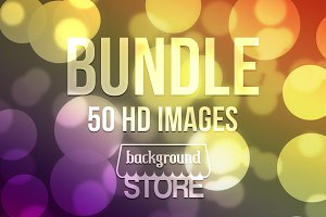 Beautiful Bokeh Backgrounds Bundle 2