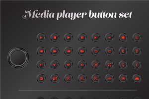 media button set